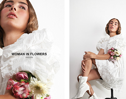 EDITORIAL - WOMAN IN FLOWERS (Love)