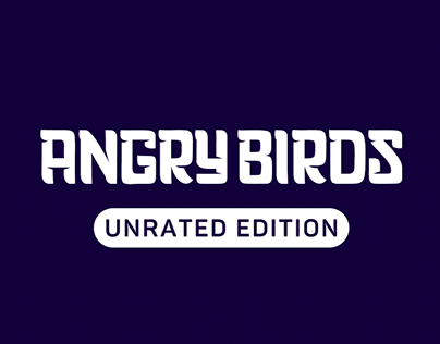 Angry Birds Unrated Edition