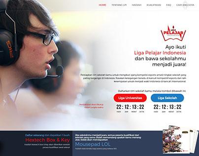 Liga Pelajar indonesia Promotion Page