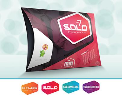 """SOLO 7"""" New Brand"""