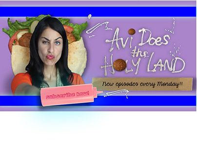 AVI DOES THE HOLY LAND - interactive web series