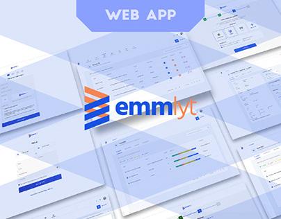 Emmlyt - UI/UX design