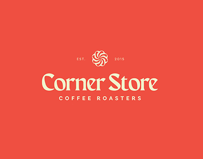 Corner Store Coffee Roasters Brand Concept