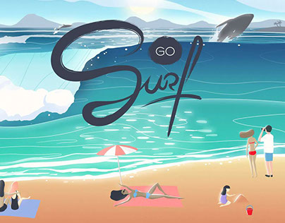 Go Surf - Mobile Game