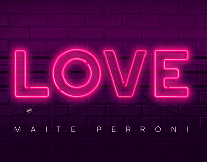 Maite Perroni · LOVE - Video Lyric Oficial