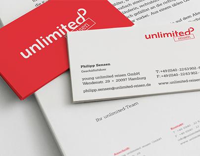 Unlimited Reisen – Corporate Design