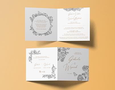Multi-languages wedding set