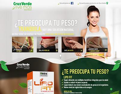 Cruz Verde Vive Más - Landing campaña Dieta&Belleza