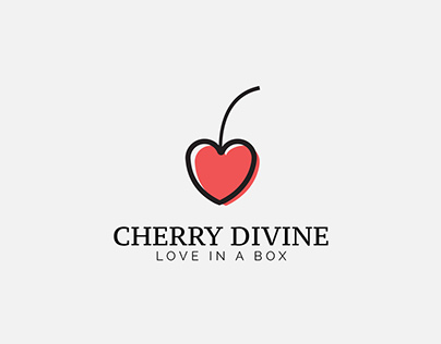 Cherry Divine Logo Design