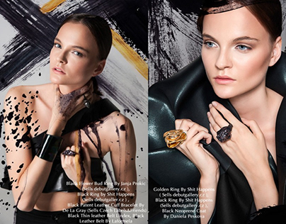 RETOUCHING FOR THE BOOK MAGAZINE