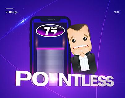 Pointless Quiz App User Interface (UI) Design
