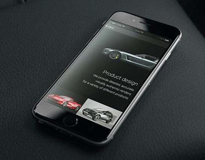 KOD3D Design Studio Website