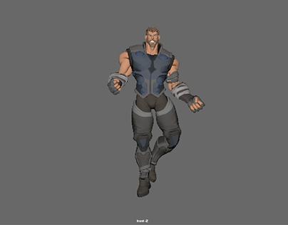 3D animation studies