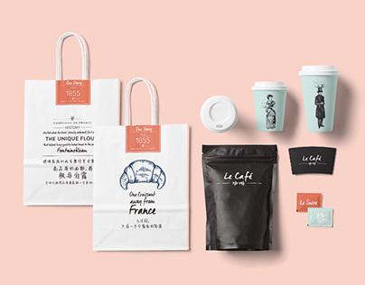 Comptoirs de France Rebranding