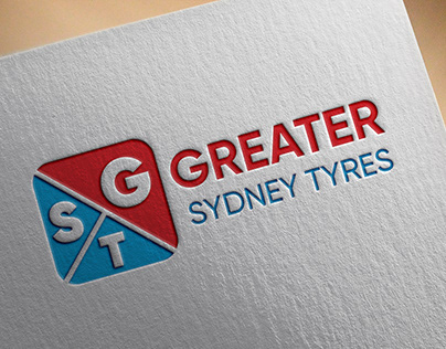 Greater Sydney Tyres Logo Design
