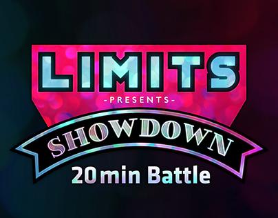 "LIMITS presents ""SHOWDOWN"" Logo"
