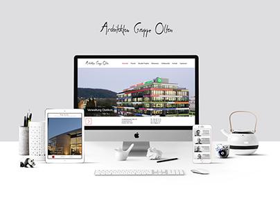 Website Redesign for Architekten Gruppe Olten
