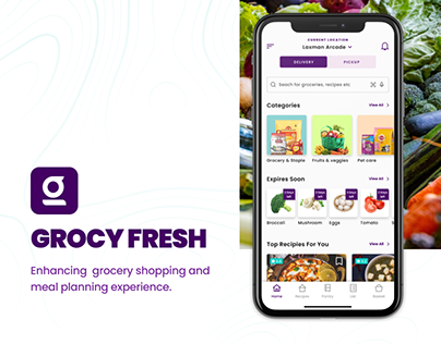 Grocery Shopping & Meal Planning App