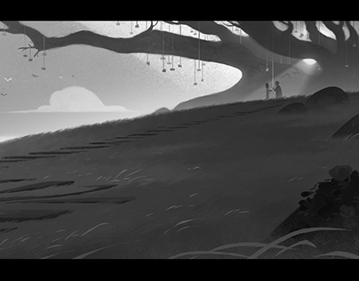 Oscar and the Pink Lady - visual development