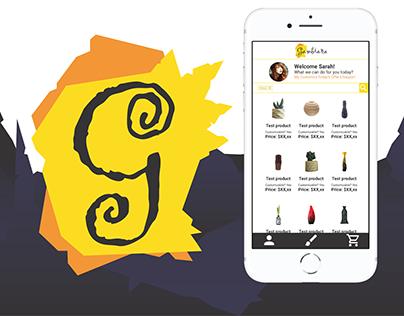 UX, UI, Branding - Gambiarra app