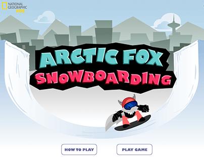 Arctic Fox Snowboarding