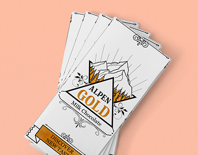 Alpen Gold, Chocolate redesign