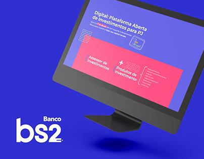 Apresentação Comercial - Banco Digital BS2