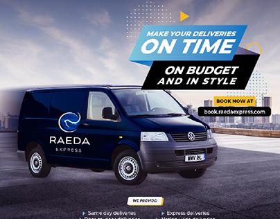Logistics Company  Ad Design