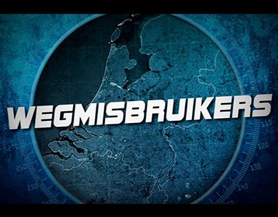 Wegmisbruikers (2014) - Main tile sequence and design