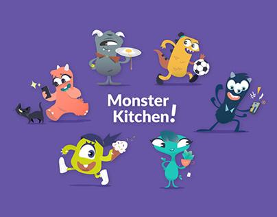 Team avatar illustrations
