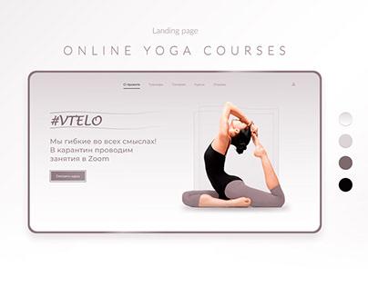 Yoga Landing page (#vTELO)