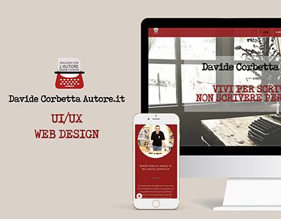UI/UX - Web Design: Davide Corbetta Autore