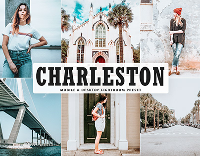 Free Charleston Mobile & Desktop Lightroom Preset