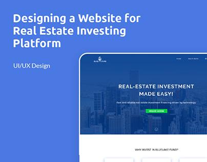 Blue Lake Fund - Real Estate Investing Platform