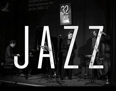 Design for 32 Jazz Club