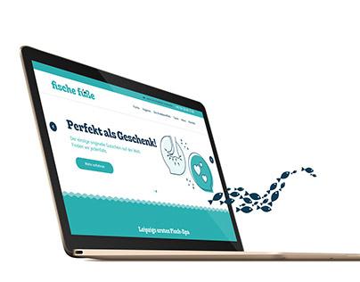 Fische Füße – Website