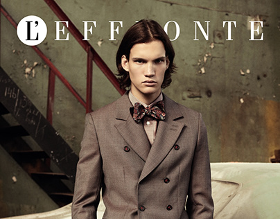 """King of tomorrow"" editorial for L'effronte journal"