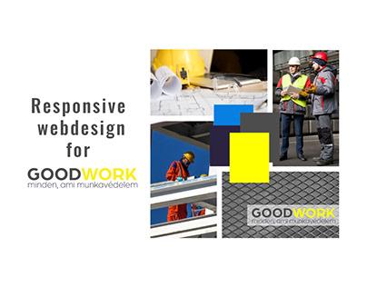 Responsive Webdesign for GoodWork