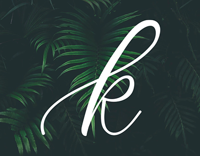 Personal Logo | Hand lettered K