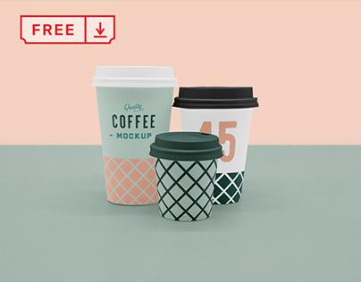 Free Coffee Cup Mockups