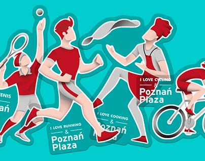 Car Stickers / Poznań Plaza