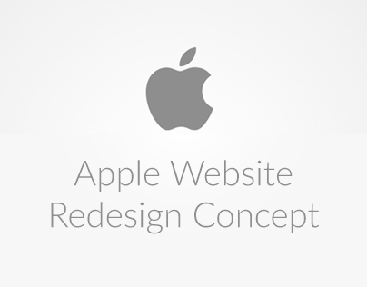Apple website redesign v1 - Day 18 #180daysofui