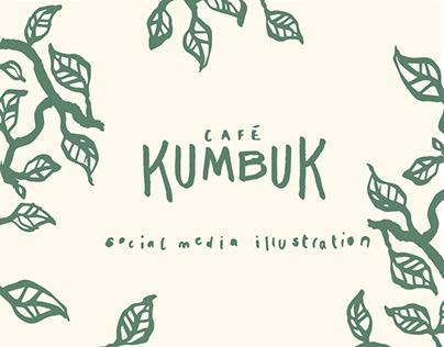 Social Media Illustration for Café Kumbuk