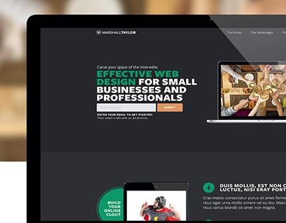 Web Design - Sales Page