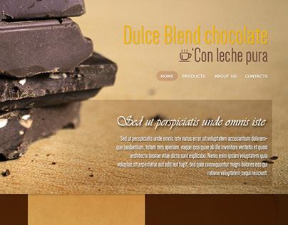 Dulce Blend Web Design