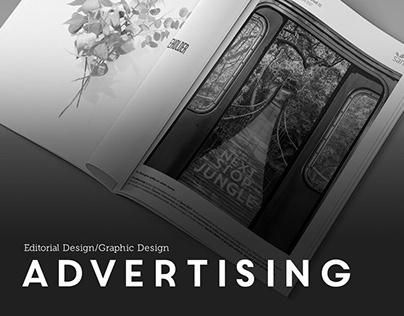 Advertising   Editorial Design/Graphic Design