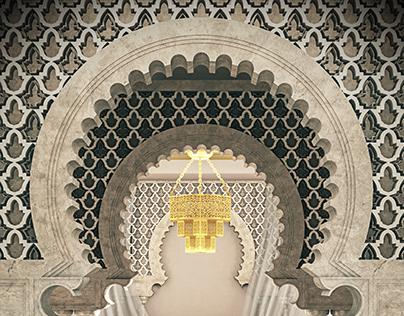 islamic interior tutorial