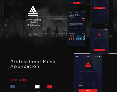 Professional Music App