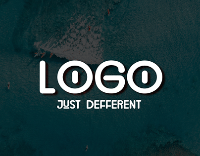 """""""Logo"""" with sea background 