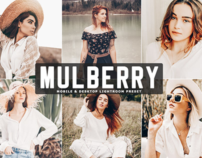 Free Mulberry Mobile & Desktop Lightroom Preset